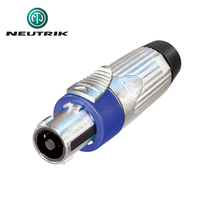 Neutrik XLR Cable Socket 90° 3 Cable Socket//Angled Xx//Rx Soldering Connection