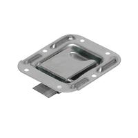 U-F/örmige Slam Latch T/ürstufe Fahrzeughaken /Ürstufe Silberes Autodach T/ürschritt