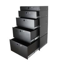 Penn Elcom 2U Aluminium Rack Drawer Black//DJ//Studio//Lightweight